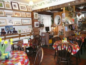 Antique teashop in Blackmore