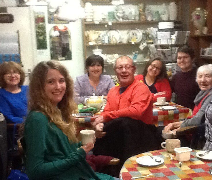 Tea shop for walkers in Blackmore