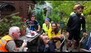 Teashop for Cyclists in Blackmore